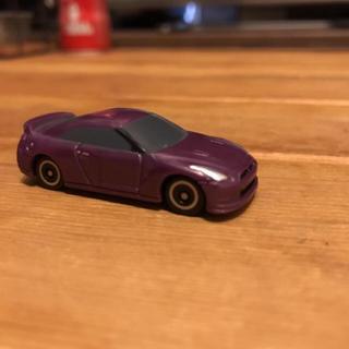 ニッサン(日産)のNISSAN スカイライン GT-R R35 ミニカー   パープル(ミニカー)