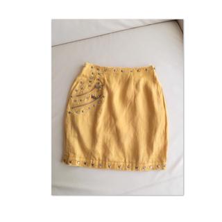 イタリヤ(伊太利屋)の伊太利屋 星スタッズスカート アレンジオーダーメイド品(ミニスカート)
