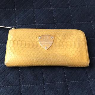 アタオ(ATAO)のATAO財布 黄色(長財布)