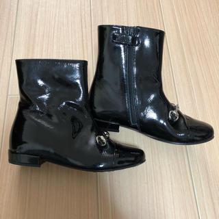 グッチ(Gucci)のGUCCI  キッズ ブーツ  18.7㎝(ブーツ)