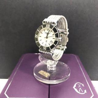 シャリオール(CHARRIOL)の470 超美品 シャリオール レディース 腕時計 ワイヤー(腕時計)