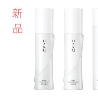 シセイドウ(SHISEIDO (資生堂))のhaku    アクティブ メラノ  リリーサー  化粧水  乳液(化粧水 / ローション)