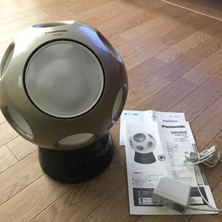パナソニック(Panasonic)のパナソニック キュー 創風機Q首振りスタンドセット シャンパンゴールド 美品(サーキュレーター)