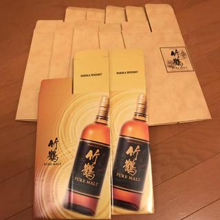 ニッカウイスキー(ニッカウヰスキー)の竹鶴 化粧箱 2種類 7枚(ウイスキー)