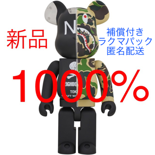 A BATHING APE - 【新品】APE NEIGHBORHOOD BE@RBRICK 1000%