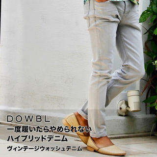 ダブル(DOWBL)のDOWBL ヴィンテージウォッシュデニム(デニム/ジーンズ)