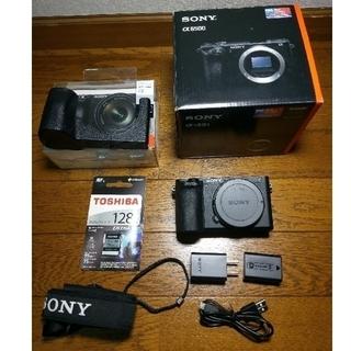 SONY - SONY ミラーレスカメラ α6500 ボディケース・SDカード付