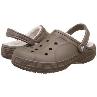 クロックス(crocs)の新品 タグ付き ★ クロックス ボア付き 28cm 大きいサイズ US10(サンダル)