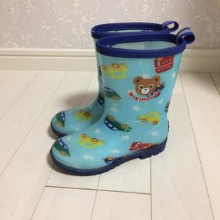 ミキハウス(mikihouse)のミキハウス☆レインブーツ 17 長靴(長靴/レインシューズ)