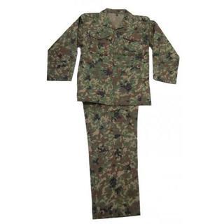 特大サイズ 陸上自衛隊 迷彩服 2型 VC 上下ベルトセット 戦闘服 作業服(戦闘服)