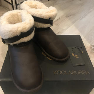 クーラブラ(Koolaburra)のKOOLABURRA★ムートンブーツサイズ23(ブーツ)