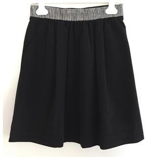 ノーリーズ(NOLLEY'S)の美品 ブラックスカート(ひざ丈スカート)