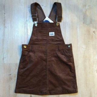 バディーリー(Buddy Lee)の新品タグ付き Lee コーデュロイジャンパースカート 120(スカート)