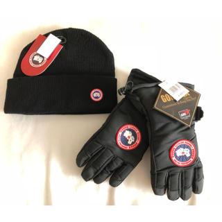 CANADA GOOSE - カナダグース 手袋 ニット帽 2点セット
