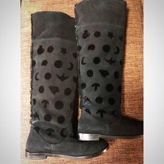 ツモリチサト(TSUMORI CHISATO)のTSUMORI CHISATO ツモリチサト ムートン2wayブーツ(ブーツ)