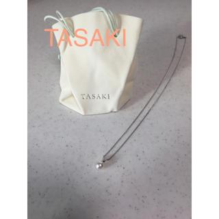 タサキ(TASAKI)の【美品】TASAKI ネックレス あこやパール ダイヤ(ネックレス)