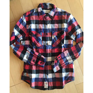 DENIM & SUPPLY ネルシャツ