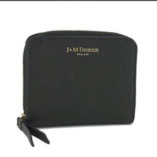 ジェイアンドエムデヴィッドソン(J&M DAVIDSON)のj&m davidson二つ折り財布◎新品未使用(財布)