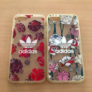 adidas - アディダス iPhone7 iPhone8 ケース 2個セット