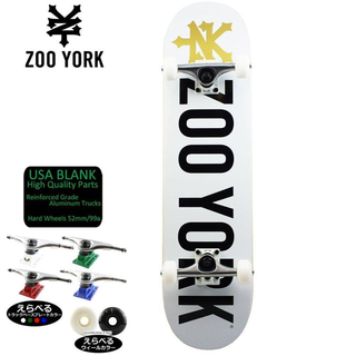 ズーヨーク(ZOO YORK)のZOO YORK ズーヨーク COMPLETE 7.75inch(スケートボード)
