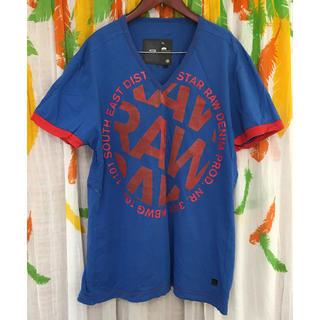 ジースター(G-STAR RAW)のG-STAR RAW  Tシャツ(ブルー)(Tシャツ/カットソー(半袖/袖なし))