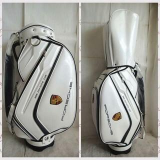porsche ゴルフ キャディバッグ ゴルフバック 軽量 9.5型(バッグ)