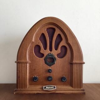 レトロ調 ラジカセ(ラジオ)