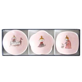 ハサミ(HASAMI)のムーミン 豆皿セット リトルミイ 新品 波佐見焼(食器)