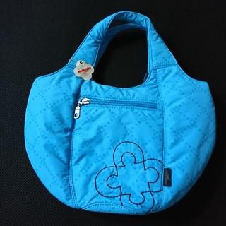 マリクレール(Marie Claire)のマリ・クレールの巾着形のふわふわ カートバッグ(確認画像あり)(バッグ)