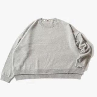 エヴァムエヴァ(evam eva)のevameva sable drop shoulder pullover(ニット/セーター)