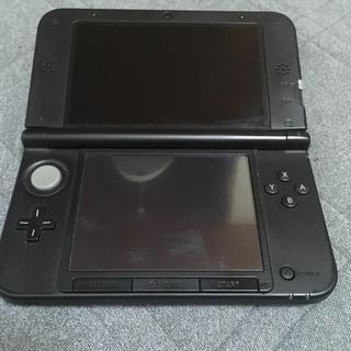 ニンテンドー3DS - 3DSLL ブラック カメラ壊れてます