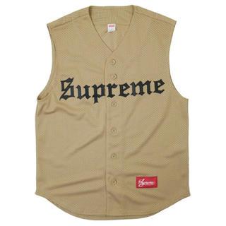 シュプリーム(Supreme)の美品 supreme baseball jersey(Tシャツ/カットソー(半袖/袖なし))