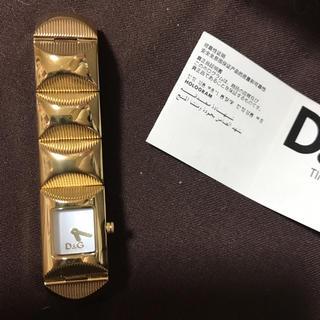 ディーアンドジー(D&G)のD&Gタイム腕時計(腕時計)