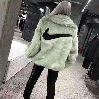ナイキ(NIKE)のNike lab ambush fur jacket ファーコート M(毛皮/ファーコート)