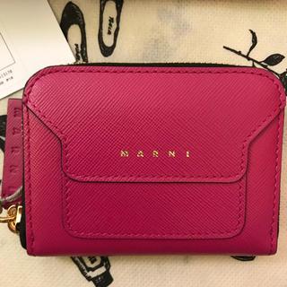 マルニ(Marni)のyama様専用です。MARNI コインケース ミニウォレット ピンク 財布(コインケース)