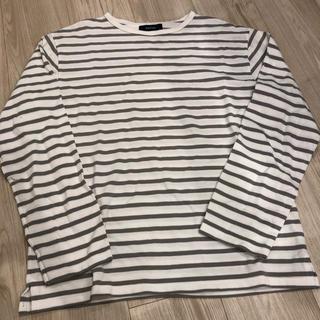 エディフィス(EDIFICE)のEDIFICE CHANTECLAIR ボーダーカットソー(Tシャツ/カットソー(七分/長袖))