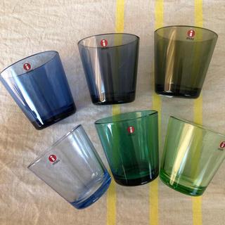 イッタラ(iittala)の新品☆ イッタラ カルティオ  6個セット(グラス/カップ)