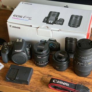 Canon - EOS Kiss X9 新古 トリプルレンズ 試し撮りのみ!