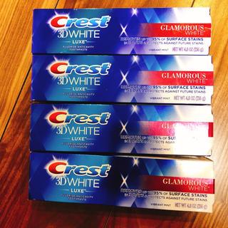 クレスト(Crest)のCrest クレスト3D ホワイト グラマラスホワイト ホワイトニング 歯磨き粉(歯磨き粉)