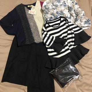 セレクト(SELECT)の新品から試着 ハイモード 洋服まとめ売り トップス3枚 スカート パンツ(セット/コーデ)