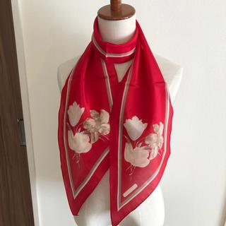 キャシャレル(cacharel)の新品 日本製 ブランドスカーフ キャシャレル(バンダナ/スカーフ)