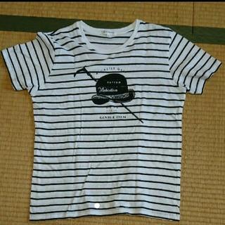 ティーケー(TK)のTK  ストライプ Tシャツ Lサイズ 美品(Tシャツ/カットソー(半袖/袖なし))