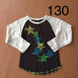 ディラッシュ(DILASH)のディラッシュ DILASH 星柄 長袖ロンT 130(Tシャツ/カットソー)