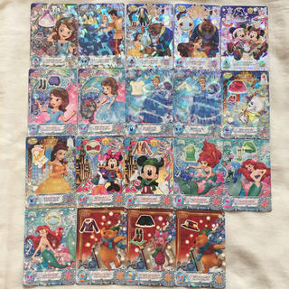 ディズニー(Disney)のクリスタルシーズン*カード19枚まとめ売り*ディズニー*マジックキャッスル(カード)