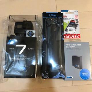 ゴープロ(GoPro)のgopro hero7 black CHDHX-701-FW ゴープロ ブラック(コンパクトデジタルカメラ)