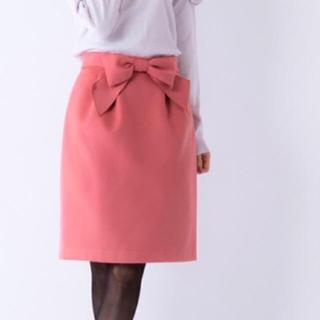 エルディープライム(LD prime)のリボンタイトスカート(ひざ丈スカート)