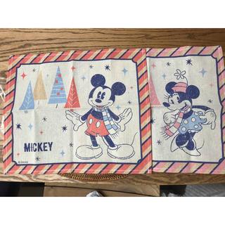 ディズニー(Disney)の新品未使用✨2枚目のセット ミッキー ミニー ランチョンマット ランチマット(テーブル用品)