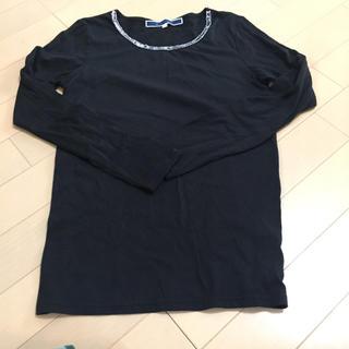 ジエンポリアム(THE EMPORIUM)のビジュー付き Tシャツ(Tシャツ(長袖/七分))