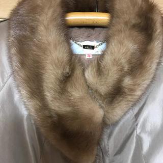 シャネル(CHANEL)のDELBA  高級ハーフコート(毛皮/ファーコート)