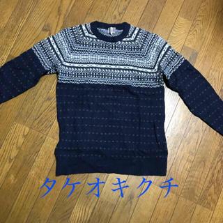 タケオキクチ(TAKEO KIKUCHI)のタケオキクチセーター(ニット/セーター)